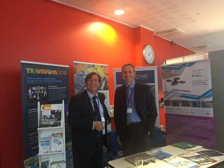FEHRL stand Connecting Europe conference