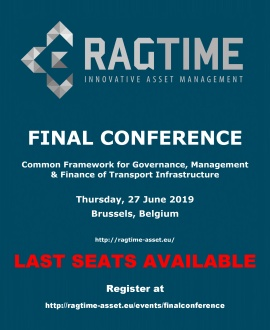 RAGTIME Final Conference - Last Seats available